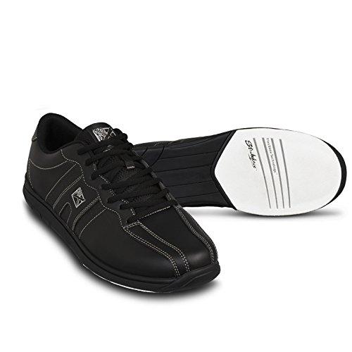 KR Strikeforce Men's O.P.P Bowling Shoes, Black, Size 10