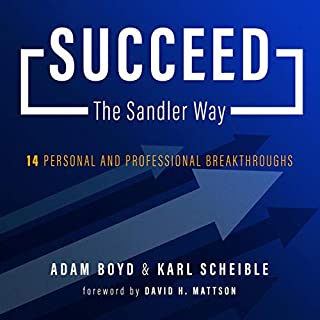 Succeed the Sandler Way cover art