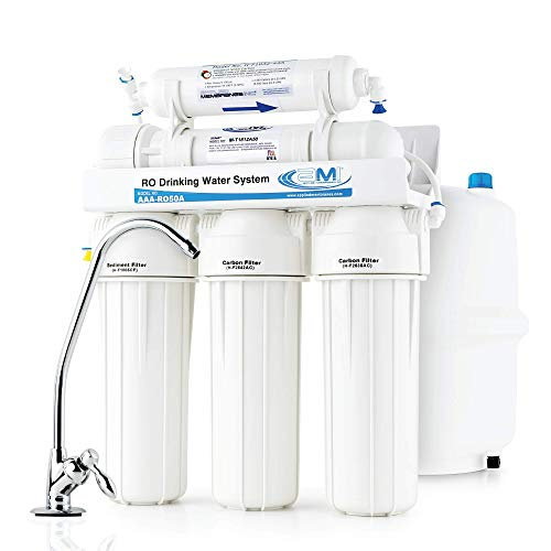 APPLIED MEMBRANES Reverse Osmosis Water Filtration System, Under...