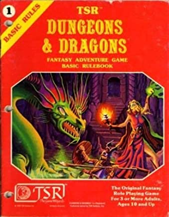 Dungeons and Dragons Basic Rule Book