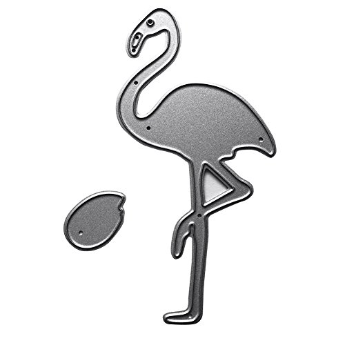 Ruby569y Metall-Stanzschablonen, Flamingo-Form, DIY-Stanzformen, Schablone, Scrapbooking, Alben, Papierkarten, Bastelwerkzeug