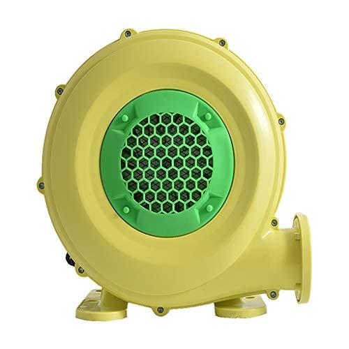 Yousiju Pequeño escape de polvo soplador de aire eléctrico soplador de castillo inflable juguete ventilador bomba de aire potente soplado ventilador máquina
