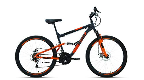 Altair Bike MTB FS 26 2.0 disc 2020 Size: 16' Gray/Orange