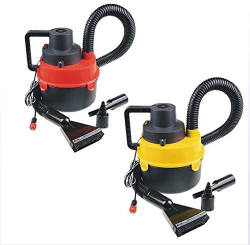 ZUZU Aspirador del Coche de Alta Potencia del Coche purificador Auto Vacuum Cleaner Limpiador de vacío de Gran Alcance de Uso Manual para Vehículos/Barcos/colchones de Aire y Juguetes 2packs: Amazon.es: Deportes y