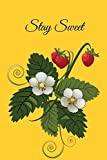 Stay Sweet: Novelty Line Notebook / Journal To Novelty Line In Perfect Gift Item (6 x 9 inches)