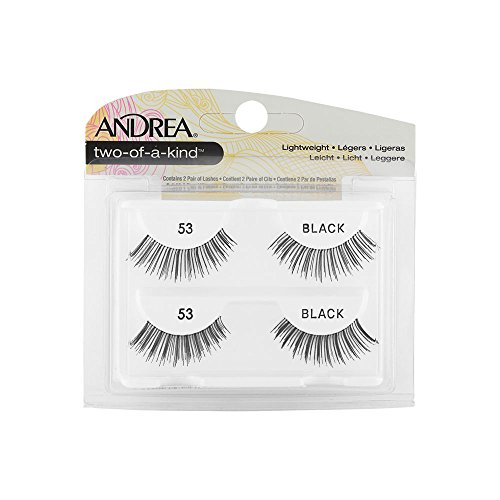 Andrea False Eyelashes Strip Lash Twin Packs, Two of a Kind 53