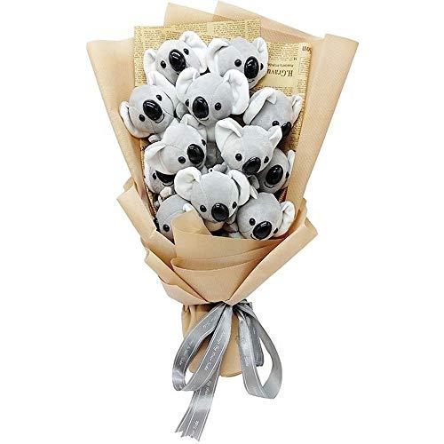 Yaowo Ramo De Regalo De Flores para El Día De La Madre Flor De Jabón Rosa Flor De Jabón para Dama Regalo (Amarillo)