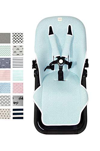Fundas BCN  - F125 - Colchoneta para silla de paseo Bugaboo Cameleon  3 – Diversos estampados (Blue Safari)
