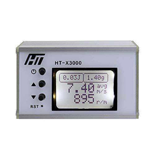 JF-XUAN Hand Hohe Genauigkeit Geschwindigkeit Messgerät Anfangsgeschwindigkeit Geschwindigkeit Velocimetry Tachometer elektrische Prüfung