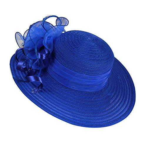 RIsxffp Moda Mujeres Floppy Summer Hat Sun Beach Straw Cap Plegable de ala ancha Jardinería Senderismo Sombrero Gris