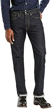 Levi's Men's 505 Regular Fit Jeans (various sizes in Tumbled Rigid)