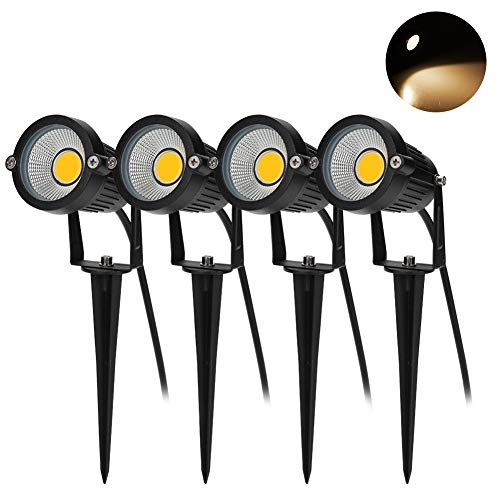 BLOOMWIN 4PCS Foco Proyector Exterior Foco COB LED con