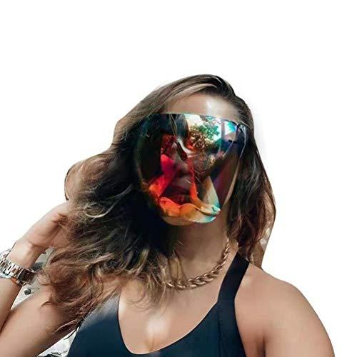 EMUKOEP Gafas de protección unisex antivaho UV400, protección ocular, gafas de sol, gafas de esquí, snowboard, gafas de nieve, gafas de sol de gran tamaño, polarizadas
