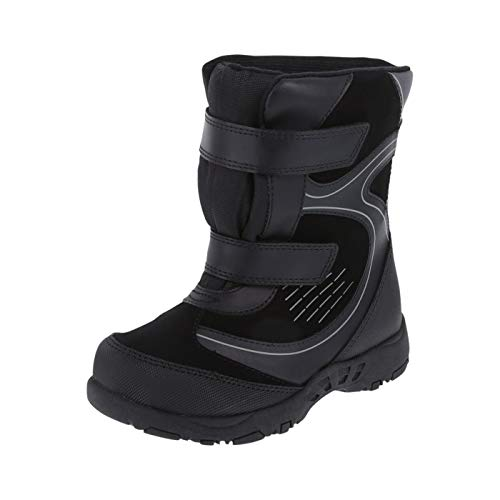 Rugged Outback Black Boys' Zo -30 Snowboard Boots 11 Regular