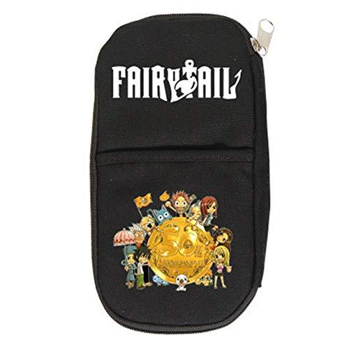 SHU-B Fairy Tail Estuche Cartuchera para Lapices Bolsa para Lapices Estuches Escolares Grandes Estuches Organizadores de Lapices para Niño