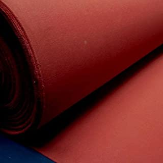Stoff am Stück Stoff Baumwolle Zeltstoff bordeaux wasserdicht Segeltuch dunkelrot weinrot rot