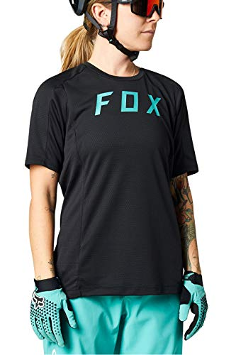 Fox Racing Damen Women's Defend Short Sleeve Jersey T-Shirt, schwarz, Mittel