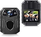 Fotocamera corpo CAMMHD, registratore portatile Full HD 2160p, 3000 mAh / 36 milioni di pixel/visione notturna a infrarossi/telecamera della polizia grandangolare da 170 gradi,32GB