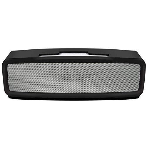 Silikon TPU Tasche kompatibel für Bose SoundLink Mini Bluetooth Lautsprecher II oder SoundLink Mini Bluetooth Speaker - Carbon