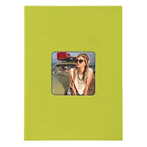 Goldbuch 17 096 Fotoalben , Grün, für 40 Fotos hoch