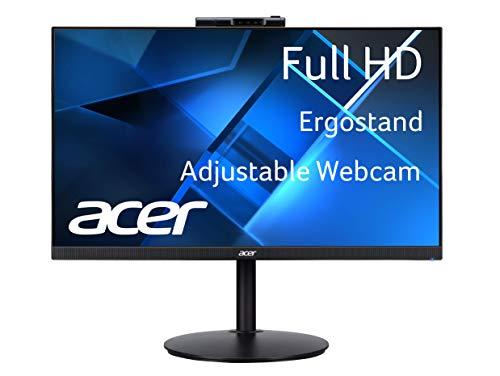 Acer CB242Y Dbmiprcx 23.8' Full HD (1920 x 1080) IPS Frameless, AMD FreeSync, 1ms VRB, ErgoStand Monitor with Full HD Adjustable Webcam (Display Port, HDMI & VGA Ports)