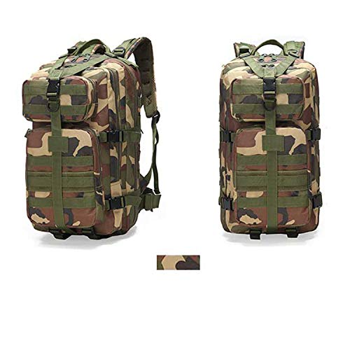 OASIS LAND 35L Waterproof Climbing Hiking Backpack Bag Camping Mountaineering Outdoor Sport 3P Bag-Woodland-Camo-OneSize
