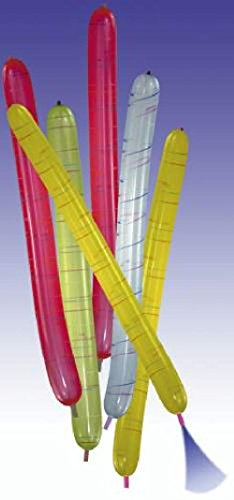 Luftballon Rakete 6471 6ST länglich
