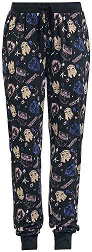 Guardians of the Galaxy Frauen Pyjama-Hose schwarz M