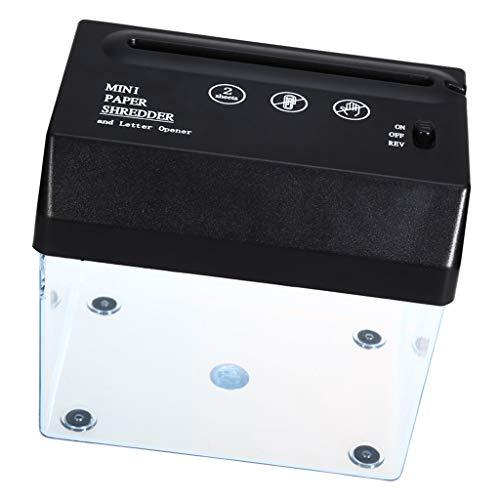 Mehrfach Verwendbarer Elektrischer USB Aktenvernichter Und Brieföffner Für Office Desktops