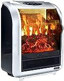 FFYN Chimenea de Gas Chimenea eléctrica, Estufa eléctrica Chimeneas, Quemador de leña Estufa de Fuego eléctrica Chimenea eléctrica Independiente Estufa de Calentador de Interior Estufa