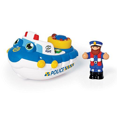 WOW Toys- Barco de Emergencia, Color Azul (103474