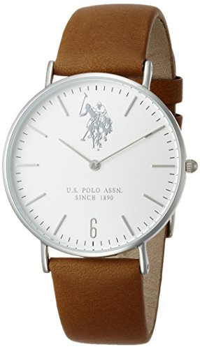 U.S.POLO ASSN. Reloj con Movimiento Miyota Unisex Rebel USP3001BW 36.0 mm
