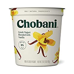 Chobani Non-fat Greek Yogurt, Vanilla Blended 32oz
