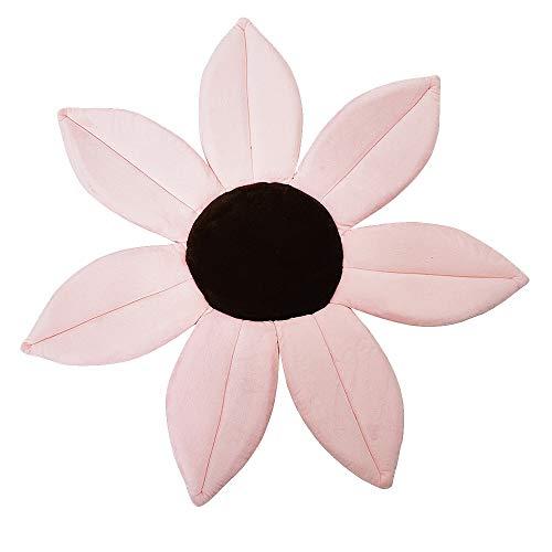 Camisin Cojín de seguridad para bebé con diseño de flores, color rosa