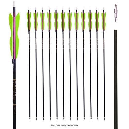 LWANO 31' Carbon Hunting Arrows Archery Target Practice...