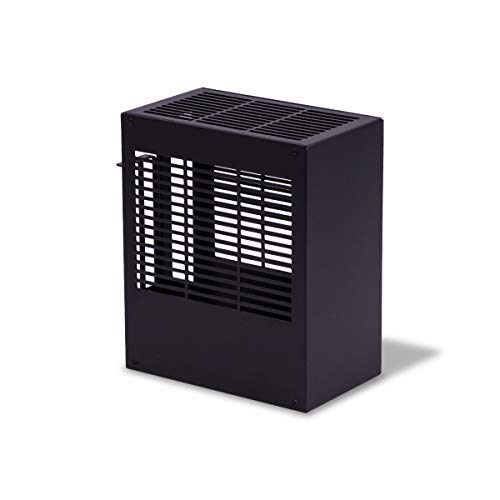 K39 Mini ITX PC Case All Aluminum Mini Tower HTPC Small Chassis Gaming Computer Case with PCIE Riser Included Support Graphics Card 1U Power Supply (Black)