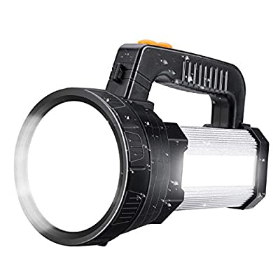 Amazon - 50% Off on Spotlight Super Bright LED Handheld Flashlight 6000 Lumen Super Bright Waterproof