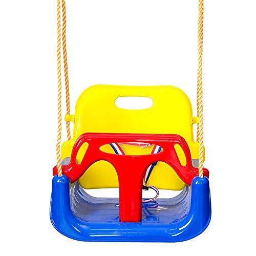 PQXOER-SP Schaukel Kinderschaukel Jaketen 3-in-1-Schaukelsitz for Kleinkinder Hängende Schaukel for Spielplätze Schaukel, Kleinkinder bis Teenager Schaukeln (Farbe, Größe : 42x33x38cm)