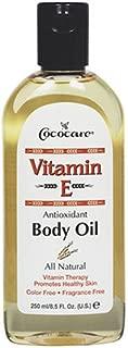 Cococare Vitamin-E Antioxidant Body Oil 8.5 Ounce (250ml) (2 Pack)