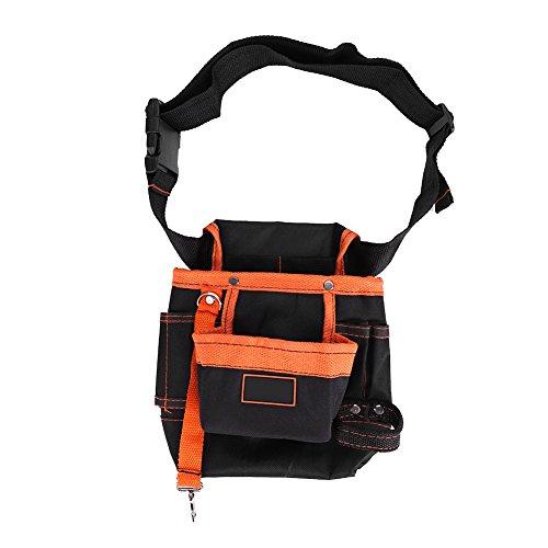 Heuptasje, 8 tassen riem gereedschapstassen verstelbare draagtas elektricien tas voor mannen vrouwen