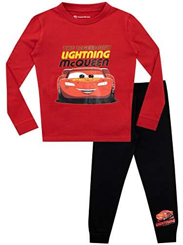 Disney Jungen Cars Schlafanzug Slim Fit Rot 92
