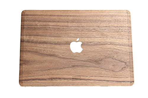 WooDWE echt hout Macbook Skin Sticker Sticker voor Mac Pro 15