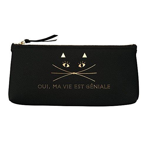 マークス キャット ペンケース 雑貨コレクション ブラック CAT-PEC1-BK