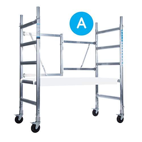 Euroscaffold andamio - Estructura de ruedas para interiores