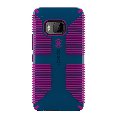 Speck Products CandyShell Grip Cell Phone Case for HTC One M9 - Deep Sea Blue/Lipstick Pink