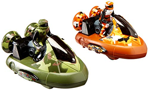 Liberty Imports Remote Control Bumper Cars - Bump 'n Eject Toy RC Bumper Cars (RC 2 Player Game with 2 Radio Control Vehicles)