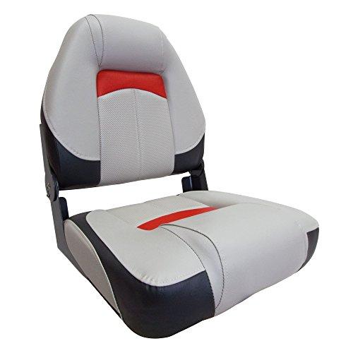 WatersideLuxus High Back Bootssitz (Boat Seat) Comfort Plus