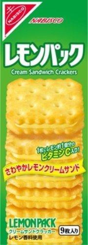 ヤマザキビスケット レモンパックハンディパック 9枚×10箱