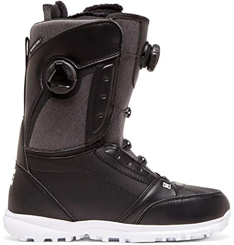 DC Lotus BOA Bottes de Snowboard Femme, Femme, Noir, 5