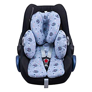 JANABEBE Reducer Cushion Infant Head & Baby Body Support Antiallergic Spike, New Design